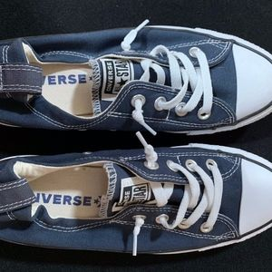 Sneakers.  Converse. Navy Blue